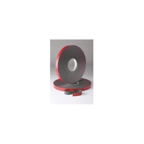 3M VHB 4611 Gray Foam Bonding Tape 1 in Width x 45 mil Thick 56146 PRICE is per ROLL