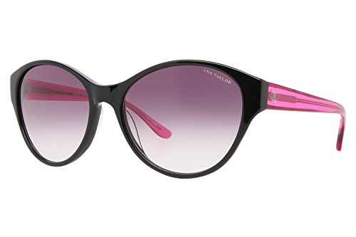 Ann Taylor AT501 Sunglasses - Frame Black/Translucent Pink - Taylor Sunglasses Ann