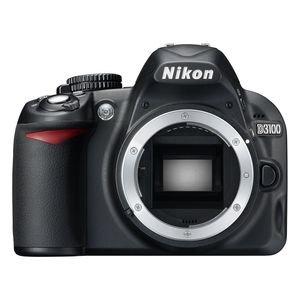 Nikon D3100 Digital SLR Camera Body (Kit Box) No Lens Included - International Version (No Warranty)
