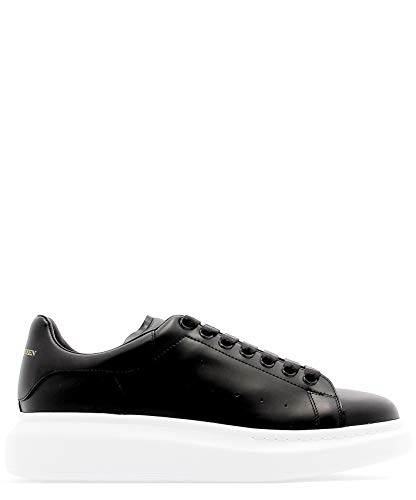 Alexander McQueen Men's 553680Whgp51000 Black Leather Sneakers