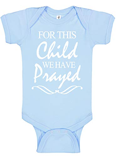 Aidens Corner - for This Child - Baby Boy & Baby Girl Clothes - Religious Bodysuits (0-3 Months, Carolina)