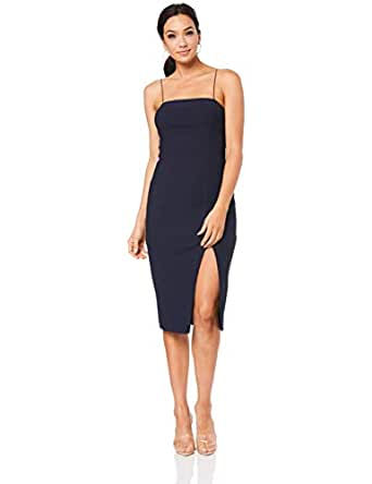 Finders Keepers Women's Magdalena Dress, Navy, Small