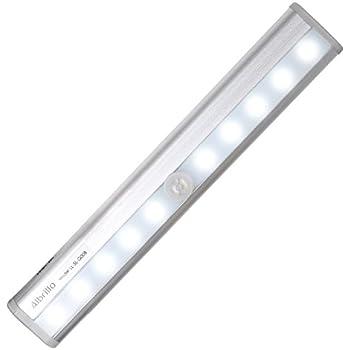 Amazon.com: 4 Pack Wireless Motion Sensor Undercabinet Lights ...