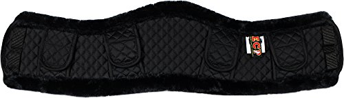 ecp-faux-shearling-contoured-girth-cover-sheepskin-alternative-helps-protect-from-gall-sores-chafes-