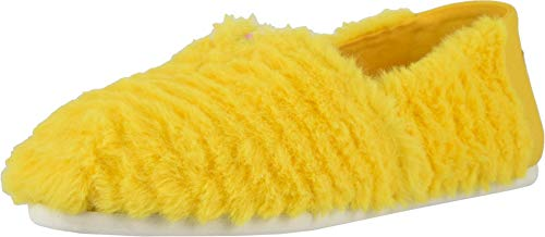 (TOMS Classics Sesame Street X Yellow Big Bird Faux Feathers 10013642 Women's Size 8 )