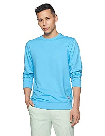 Amazon Brand - Symbol Men's Regular Fit Round Neck Sweatshirt