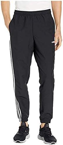 [adidas(アディダス)] メンズパンツ・ショーツ等 Essentials 3-Stripes Wind Pants Black/White (L) R [並行輸入品]