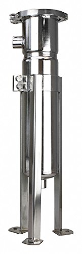 """1"""" NPT 316L Stainless Steel Bag Filter Housing, Bottom Outlet, 50 gpm"""
