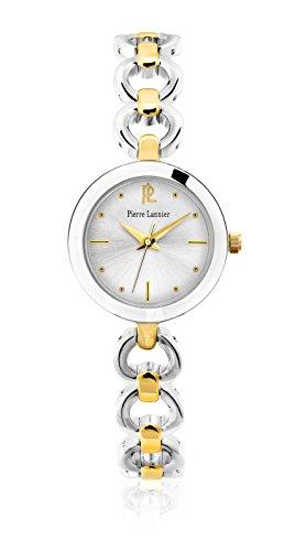 Women's Watch Pierre Lannier - 047J721 - ELEGANCE SEDUCTION - Silver and Gold Metal