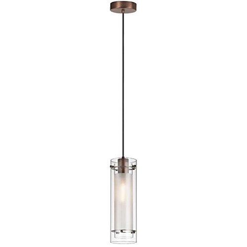 dainolite-lighting-22152-cf-obb-1-light-clear-frosted-glass-pendant-oil-brushed-bronze-finish