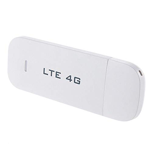 MTOFAGF 4G LTE USB Dongle Mobile Broadband Modem Router Stick SIM Card White 100Mbps MTOFAGF Brings You The Best (Color : Like The Picture)