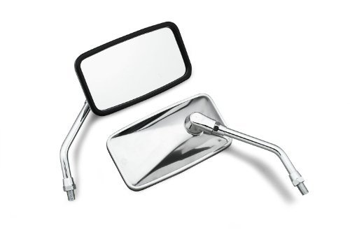Left Right Mirrors - Bikemaster Mirror Stainless Steel Left or Right (Universal) - Sold Individually