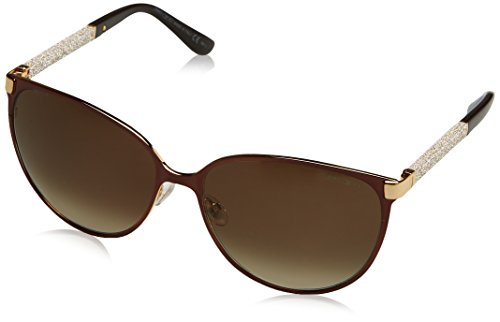 Jimmy Choo Sunglasses - Posie/S / Frame: Brown Lens: Brown - Women Jimmy Choo Sunglasses
