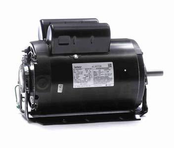 - 1.5 hp 1725 RPM 56H Frame 115/208-230V 60 hz Belt Drive Cap Start Blower Motor Century # RB1154AV1