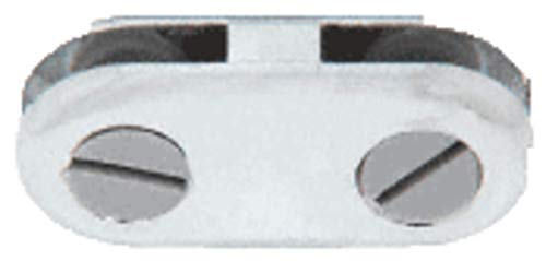 C.R. LAURENCE ZLC11CH CRL Chrome 180 Degree Inline Display Connector