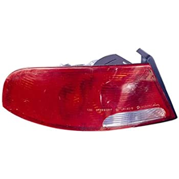 NSF Certified Depo 335-1901L-AFD GMC Sierra Driver Side Replacement Taillight Assembly