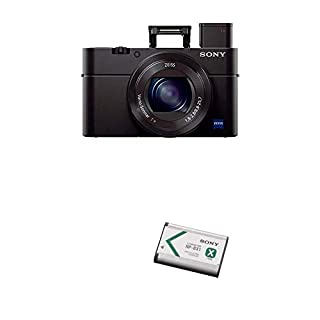 Sony Cyber-shot DSC-RX100 III Digital Still Camera with Lithium-Ion X Type Battery (Black) (B07DGX88KW) | Amazon price tracker / tracking, Amazon price history charts, Amazon price watches, Amazon price drop alerts