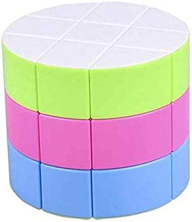 higadget Speed Cube, High Stability Stickerless Cube, Rubik Cube for Kids (Drum)