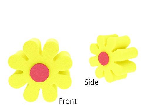 Antenna Tops Yellow Daisy Car Antenna Topper/Antenna Ball/Mirror Dangler