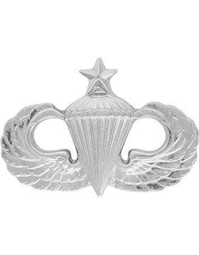 Senior Parachutist Badge (NS-508 Senior Parachutist Dress Miniature, No-Shine NO)