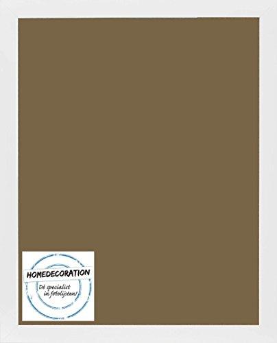 Cornice Misano 70 X 50 Cm Mdf Cornice In Stile Moderno 50 X 70 Cm Colore Selezionato Bianco Satinato Con Vetro Plastico Antiriflesso 1 Mm