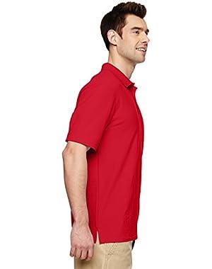 mens DryBlend 6.3 oz. Double Piqué Sport Shirt (G728)