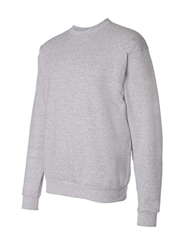Hanes Men's Ecosmart Fleece Sweatshirt,Light Steel,2 XL