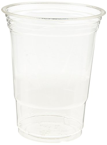 Star Cup 16 oz Disposable Clear Plastic Cups, Iced Coffee, Party Supplies, Cold Drinks | 50-Pack