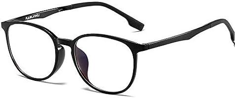Ramlinku パソコン用メガネ ブルーライトカット メガネ 度なし PCメガネ pcブルー ライト カット メガネ 超軽量 UVカット ブルー遮光 メガネ 紫外線カット ウェリントン 男女兼用 輻射防止 視力保護 睡眠改善