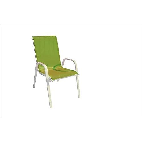 DC America 372139 G4PK 4 Pack Fantasy Sling Chair, Green