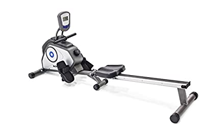 Marcy Foldable 8-Level Magnetic Resistance Rowing Machine with Transport Wheels NS-40503RW by Impex Inc. - DROPSHIP