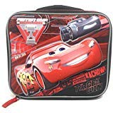 UPD Disney Cars Boys Insulated School Lunch Bag with McQueen 3D Pop Up Molded Design ()