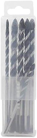 WEI-LUONG Tools Drill 1/8-1/2 Inch Diameter Marble Twist Drill Bit Set Ceramic Glass Tile Twist Drill 10pcs Drill Accessories Drill bit Set