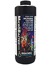 Brightwell Aquatics MicroBacter Clean - Microbial Culture & Enzyme Blend Designed to Target & Clean Surfaces of Aquatic Tanks,1 L, Model Number: BACCL1L