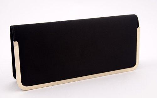 Pochette, Shalbanoir,satin, Dimensions en cm: 29 L x 12 H x4 p