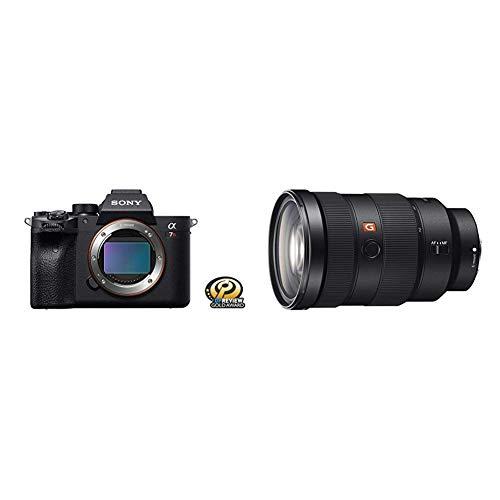 Sony Alpha 7R IV Full-Frame Mirrorless Interchangeable Lens Camera (ILCE7RM4/B) with Sony SEL2470GM E-Mount Camera Lens: FE 24-70 mm F2.8 G Master Full Frame Standard Zoom Lens