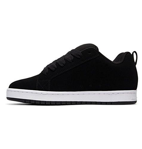 Xskk Black Court Se Low Top Men's Dc Shoes Graffic Sneaker qwx8qS1O