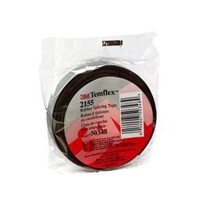 3M(TM) Temflex(TM) Rubber Splicing Tape 2155 - 3/4x22FT - Plymouth Bushings