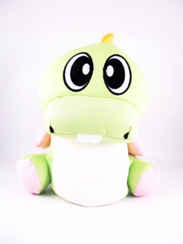 Snow Foam Micro Beads Pillow Puzzle Bubble Bust-a-move Green Dinosaur