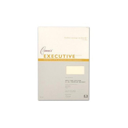 Crane & Co. Pearl White Kid Finish Monarch Envelopes (PE7111) ()