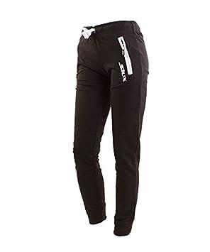 Siux Pantalon Largo Diablo Mujer Negro: Amazon.es: Deportes y aire ...