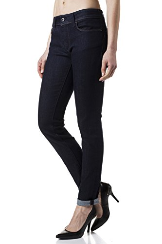 Salsa - Jeans Wonder Push Up, coupe slim, taille moyenne - Femme