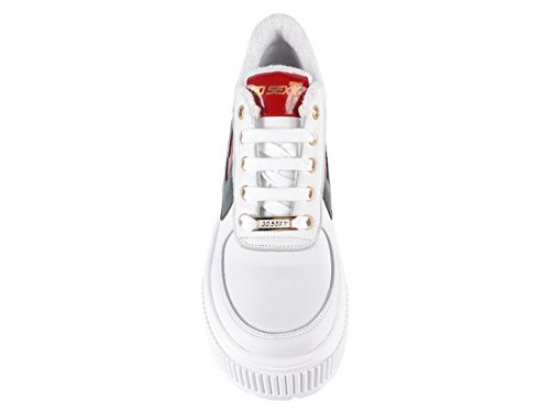 Go Femme Baskets Blanc Rouge Sexy Pour rqHwrZ