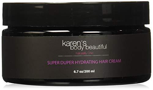 Karen's Body Beautiful Super Duper Hydrating Hair Cream Pomegranate Guava, 6.7 - Cream Body Beautiful