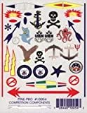 Anchors Weigh USN, Sealife, etc Decals (D)