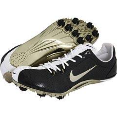 Nike Zoom Ja Track and Field Cleats (15.5 B(M) US Women / 14 D(M) US Men, Black/Metallic Gold)