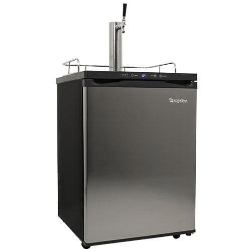 Marvel Half Keg Beer Dispenser (EdgeStar KC3000SS Full Size Kegerator with Digital Display - Black and Stainless Steel)