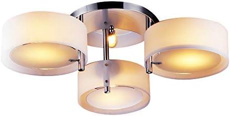 Moderno Lámpara De Techo (3 Bombillas E26/E27, 60 W Máx), Cromo Acabado, Lámparas Araña (For Sala De Estar, Habitación De Estudio/Oficina, ...