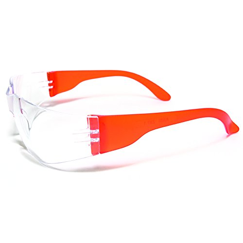 Ultimate UV Protection, Scratch Resistant Clear Lenses Safety Glasses, Pack of 12 by ULTIMATE SAFETY GLASSES (Image #5)