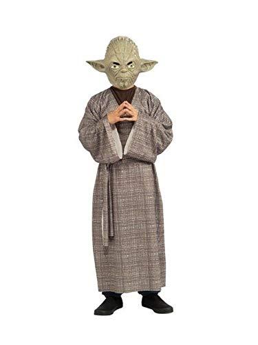 DISBACANAL Disfraz Maestro Yoda Deluxe niño - Único, 8-10 ...